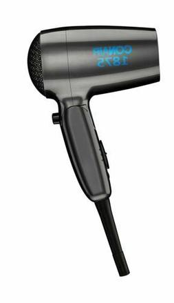 Conair 124TR Travel Folding Hair Dryer 1875 Watt – Black C