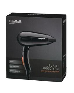 BaByliss Travel Hair Dryer Folding Handle 2000W Small Compac