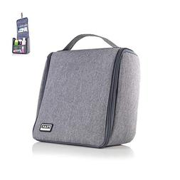 Peak Gear Compact Toiletry Bag - Great Organizer for Travel,