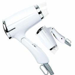 Folding Hair Dryer Compact Travel Blow AC Motor Infrared Pro