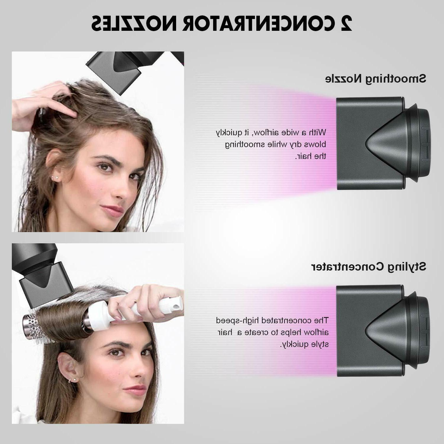 Ionic Supersonic Hair Dryer 1800W Dryer Concentrator,