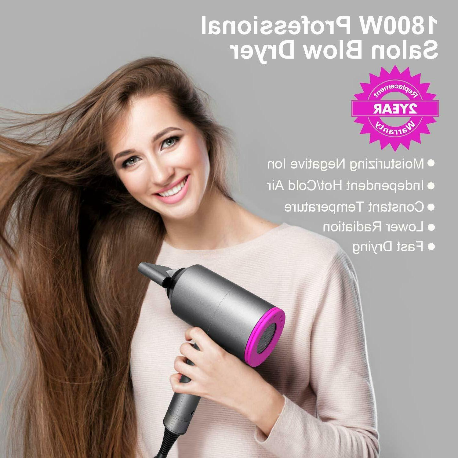 Ionic Supersonic Hair 1800W Dryer