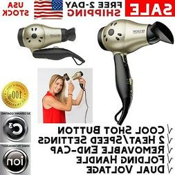 Revlon Professional Mini Hair Blow Dryer Ionic Compact For T