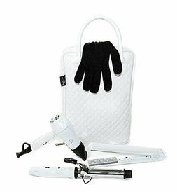 Travel Essentials Hair Care Set By Re Hair -  Dryer, Flat Ir