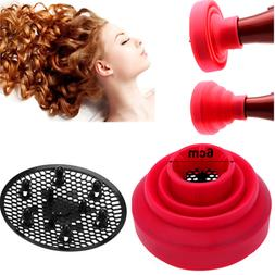 Travel Portable Silicone Universal Folding Hairdryer Diffuse
